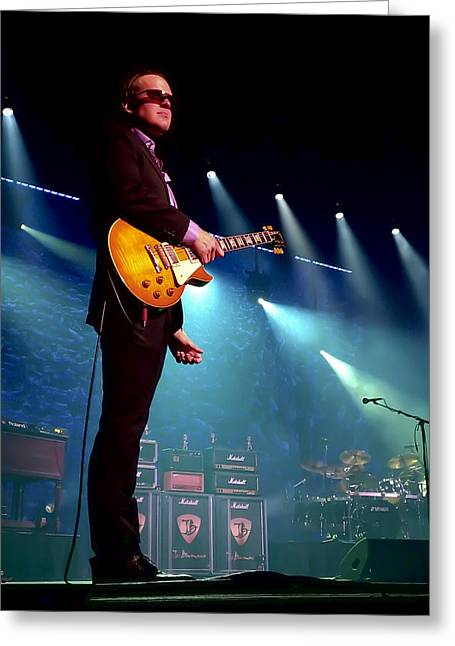 Joe Bonamassa 2 Greeting Card by Peter Chilelli