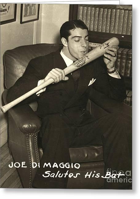 Joe Dimaggio (1914-1999) Greeting Card
