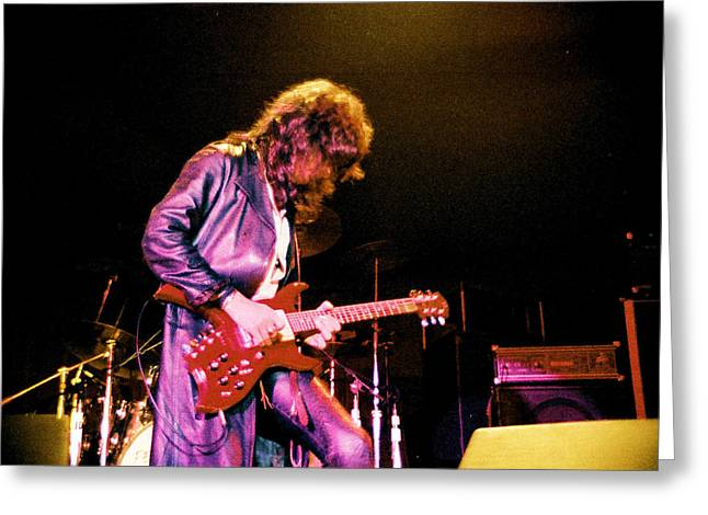 Joe Perry Project -2 Circa 1981-82 Greeting Card by Steve Pimpis