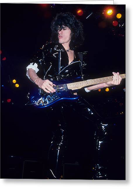 Joe Perry Greeting Card by Rich Fuscia
