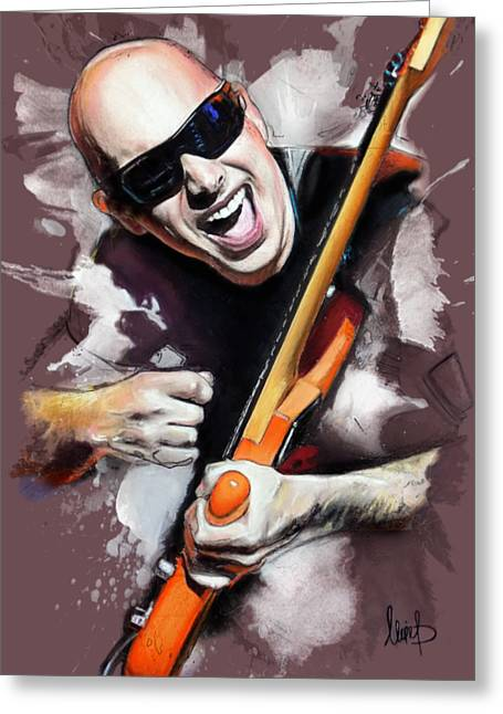 Joe Satriani Greeting Card