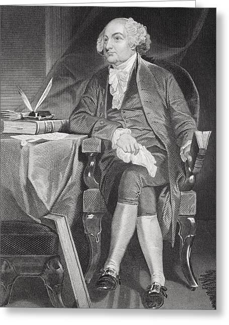 John Adams 1735-1826. First Greeting Card
