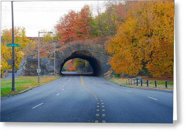 John B Kelly Drive In Autumn Greeting Card by Bill Cannon