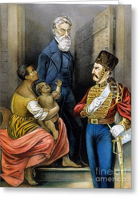 John Brown (1800-1859) Greeting Card by Granger