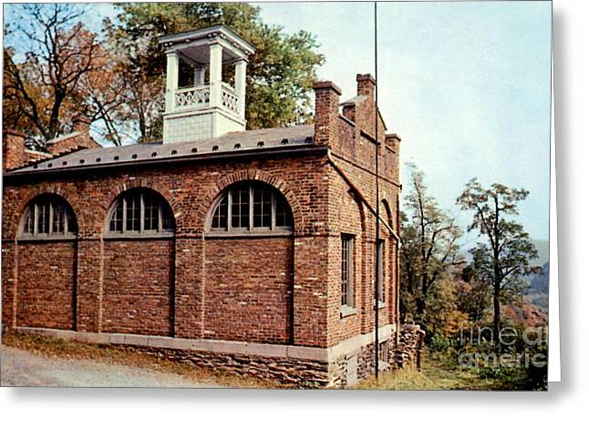 John Browns Fort  Greeting Card by Ruth  Housley