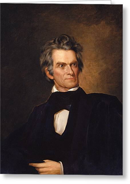 John C. Calhoun Greeting Card