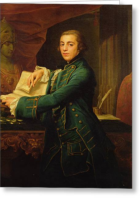 John Crewe Greeting Card by Pompeo Girolamo Batoni