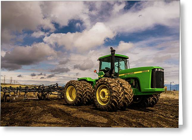 John Deere 9200 Greeting Card