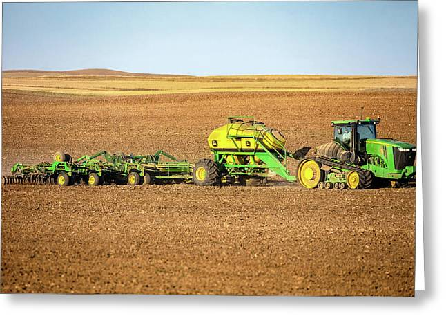 John Deere 9560 Rt Greeting Card