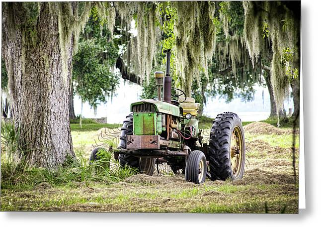 John Deere - Hay Day Greeting Card