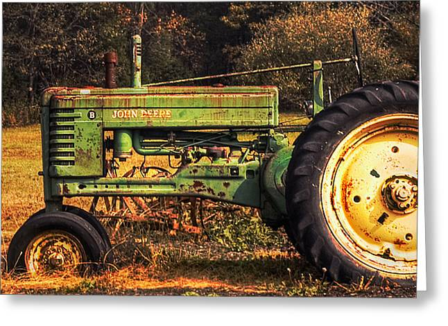 John Deere Retired Greeting Card