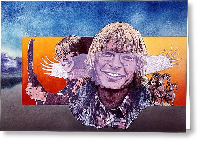John Denver Greeting Card