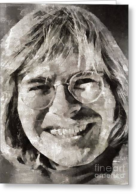 John Denver, Singer Greeting Card