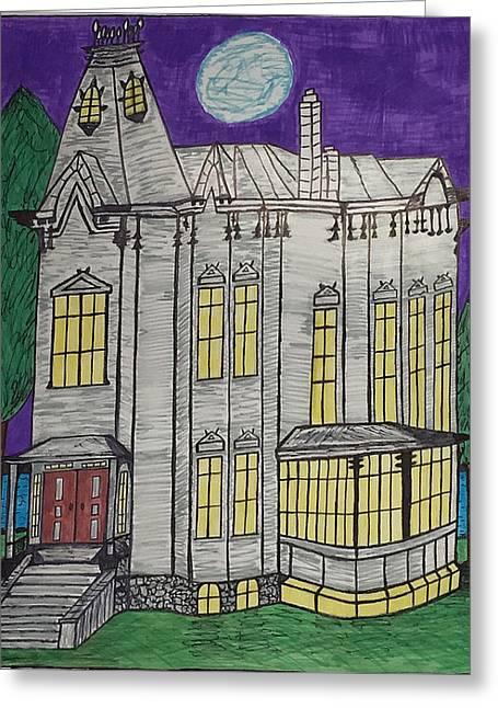 John Henes Home. Greeting Card by Jonathon Hansen