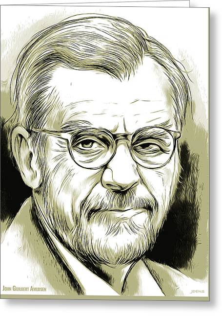 John Guilbert Avildsen Greeting Card by Greg Joens