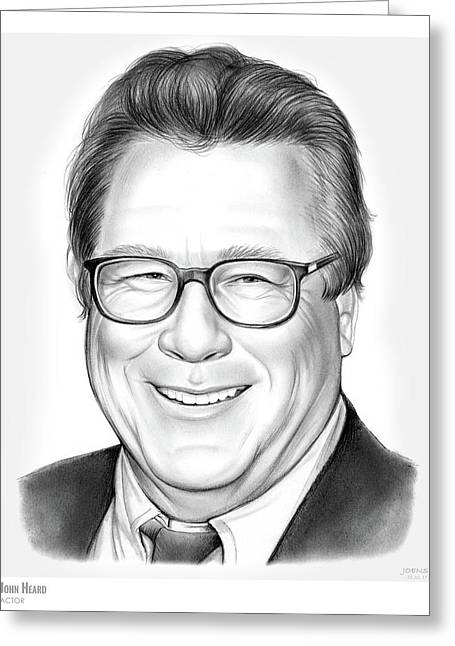 John Heard Greeting Card