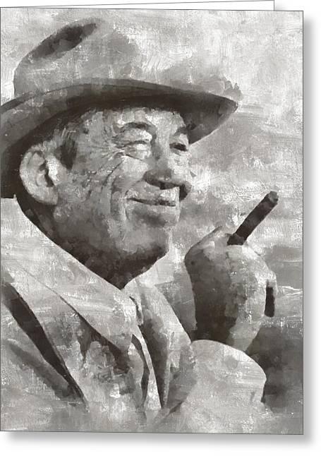 John Huston, Film Director Greeting Card