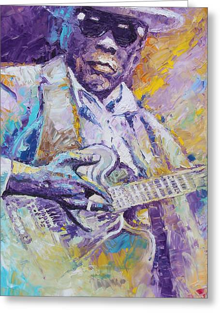 John Lee Hooker 01 Greeting Card