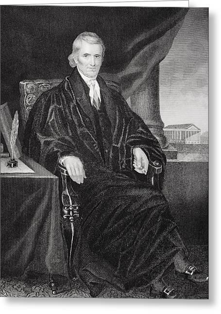 John Marshall 1755-1835. American Greeting Card by Vintage Design Pics