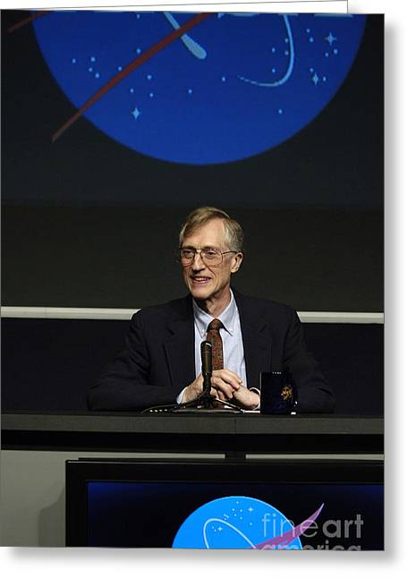 John Mather, American Astrophysicist Greeting Card by Science Source