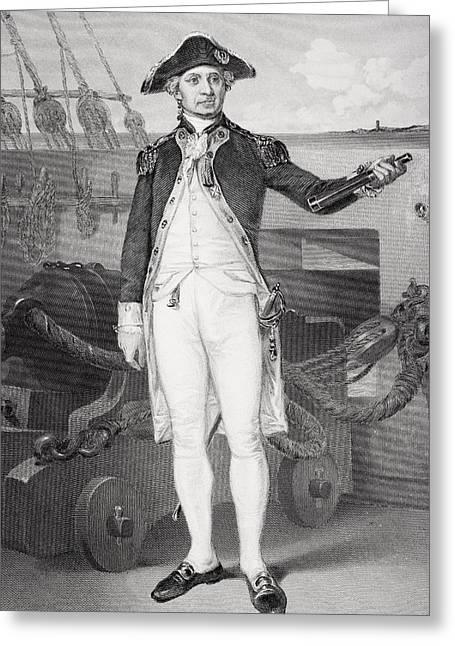 John Paul Jones 1742-1792. American Greeting Card by Vintage Design Pics