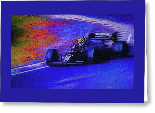 Greeting Card featuring the mixed media John Player Special by Marvin Spates