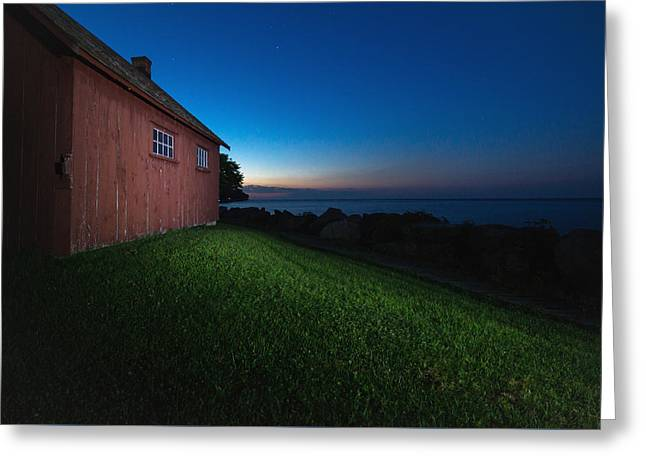 John R. Park Homestead - Sunrise Greeting Card by Cale Best