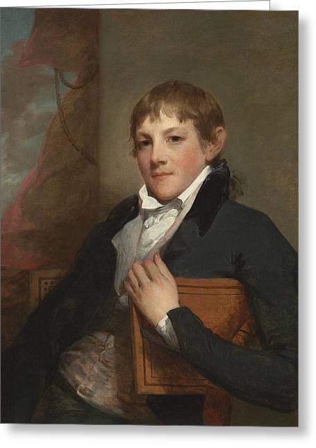 John Randolph Greeting Card by Gilbert Stuart