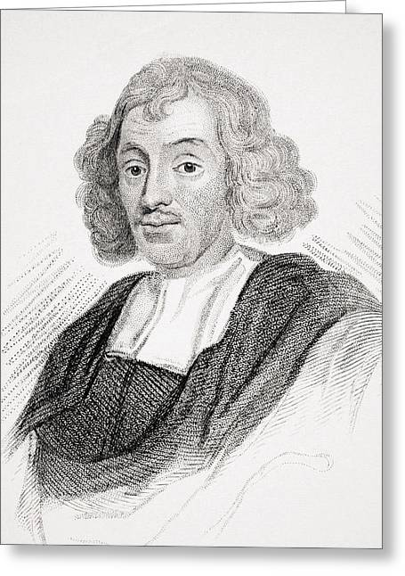 John Ray Also Spelled Wray 1627-1705 Greeting Card