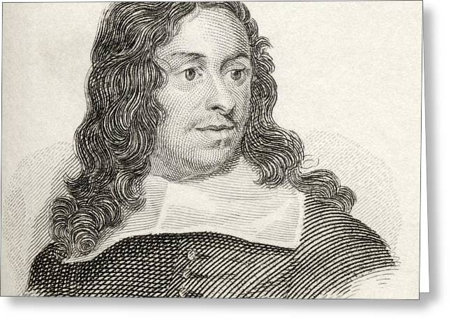 John Thurloe Born Between 1616 And 1621 Greeting Card by Vintage Design Pics