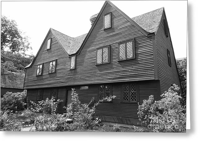 John Ward House, Salem, Massachusetts Greeting Card