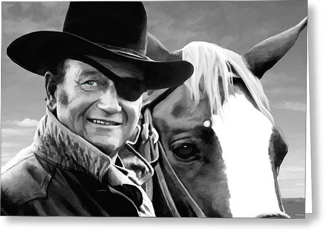 John Wayne @ True Grit #1 Greeting Card