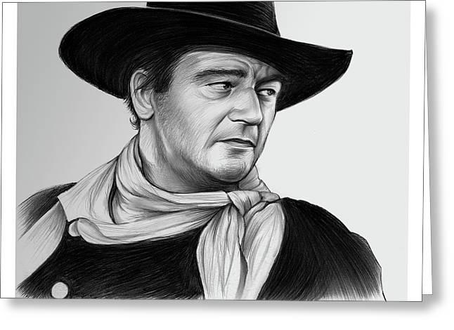 John Wayne 29jul17 Greeting Card