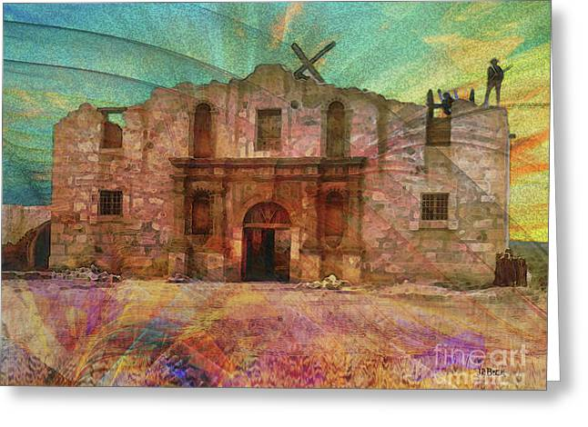 John Wayne's Alamo Greeting Card