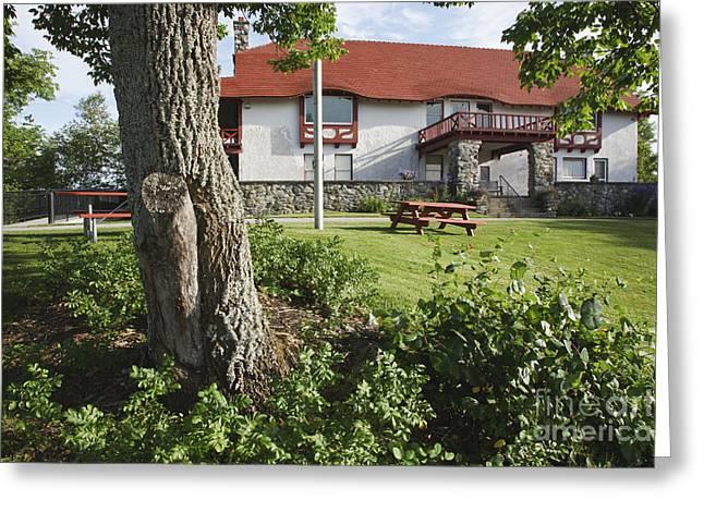 John Wingate Weeks Estate - Lancaster Nh Greeting Card