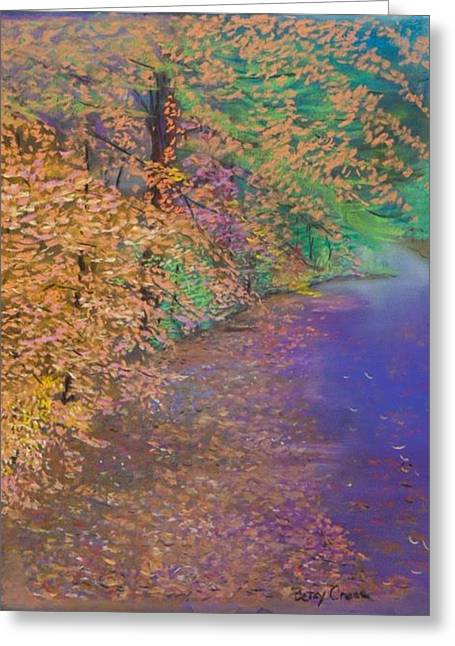 John's Pond In The Fall Greeting Card