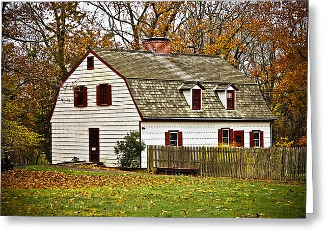 Johnson Ferry House Greeting Card by Colleen Kammerer