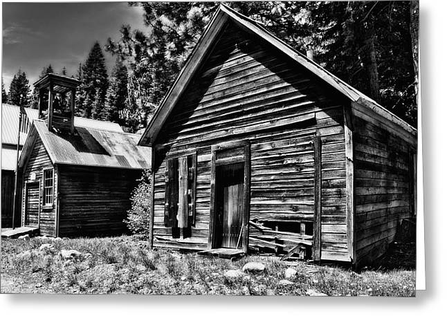 Johnsville Greeting Card by Mick Burkey