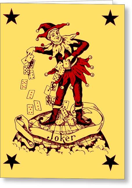 Joker 2 Greeting Card