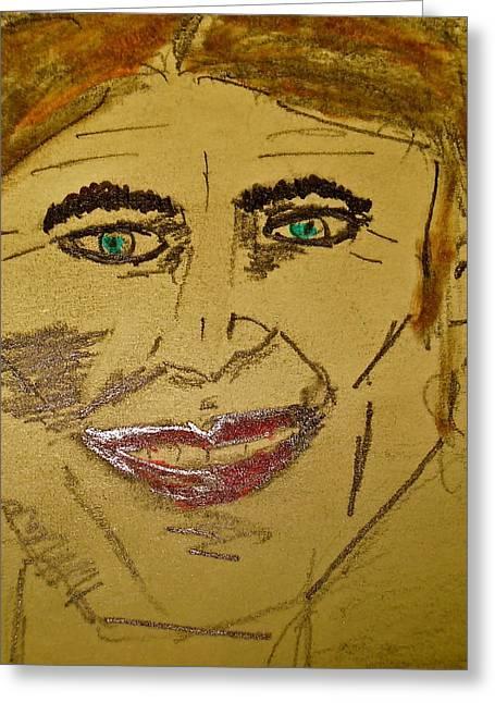 Joker Smiling Greeting Card