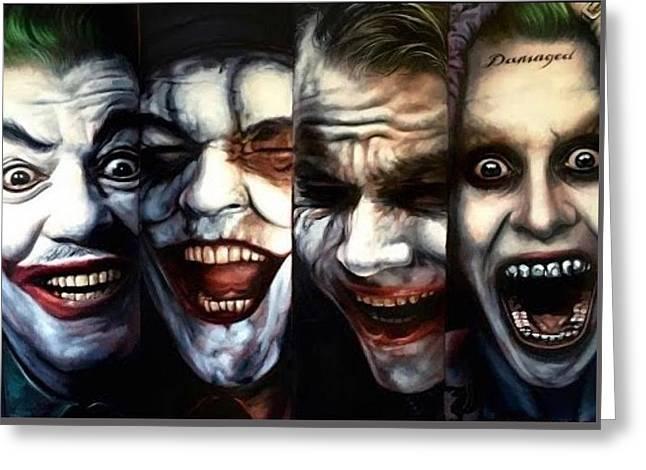 Joker Super Greeting Card