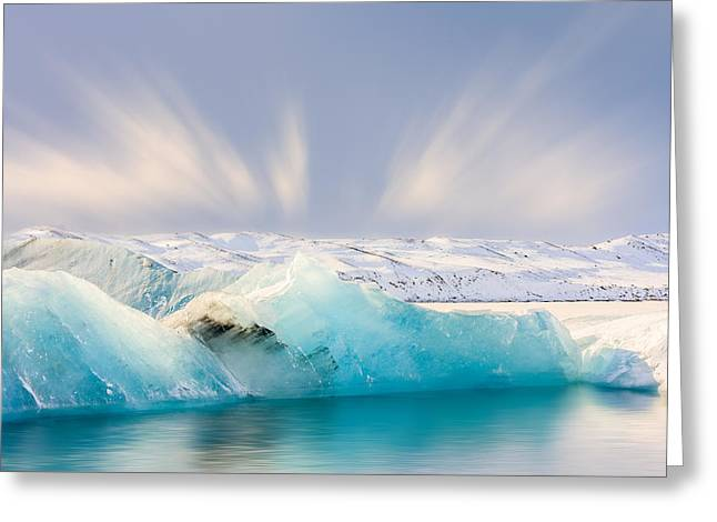 Jokulsarlon Glacier Lagoon Greeting Card