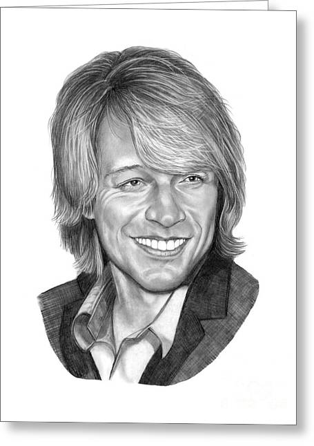 Jon Bon Jovi Drawing by Murphy Elliott – Bon Jovi Birthday Card