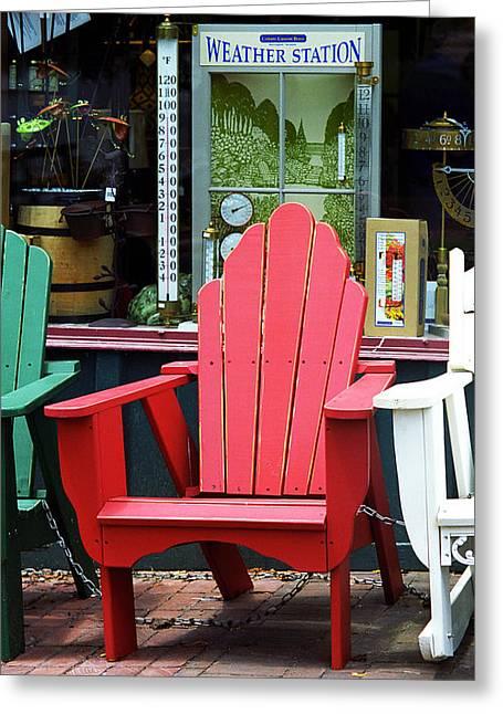 Jonesborough Tennessee - Comfy Chair Greeting Card