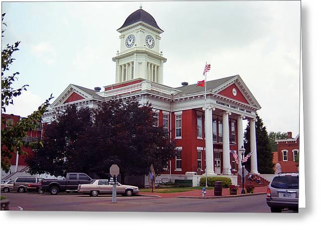 Jonesborough, Tennessee - Courthouse Greeting Card