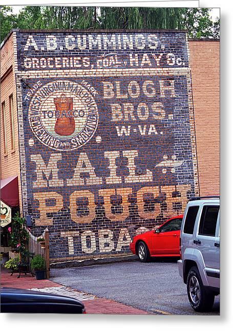Jonesborough Tennessee - Ghost Mural Greeting Card