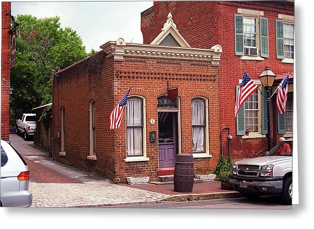 Jonesborough, Tennessee - Main Street 3 Greeting Card