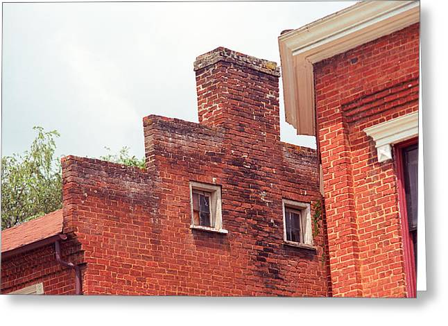 Jonesborough Tennessee - Small Town Architecture Greeting Card by Frank Romeo