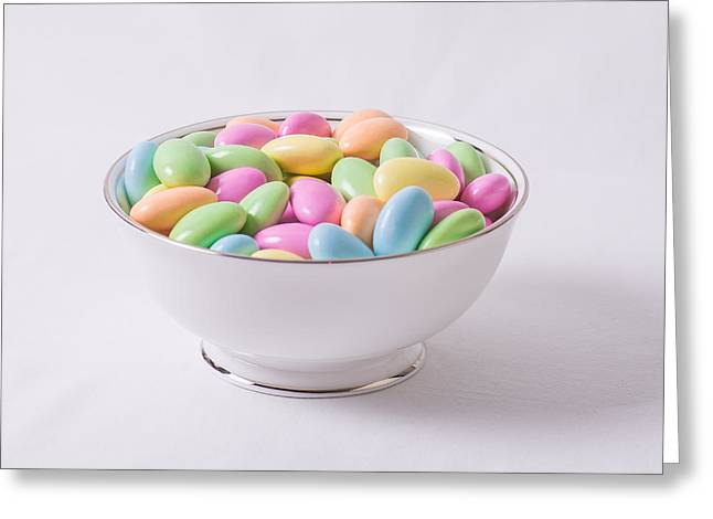 Jordan Almonds Greeting Card