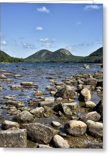 Jordan Pond - Acadia National Park - Maine Greeting Card by Brendan Reals
